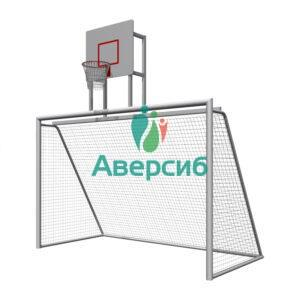 Уличные ворота с баскетбольным щитом